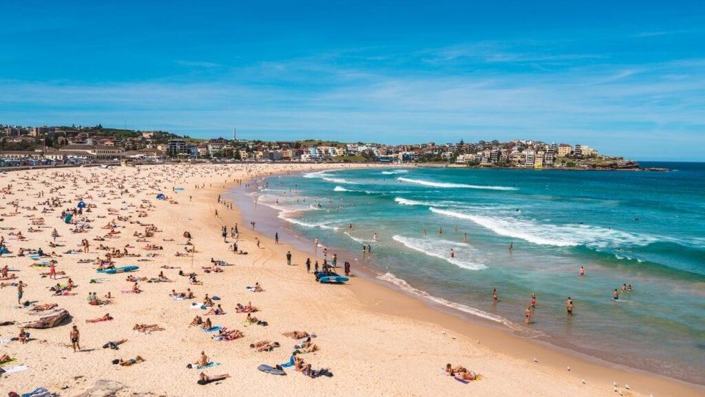 Bondi Beach - Covid-safe things to do in Sydney