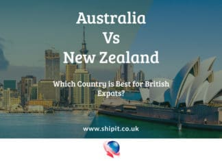 Comparing Australia VS New Zealand