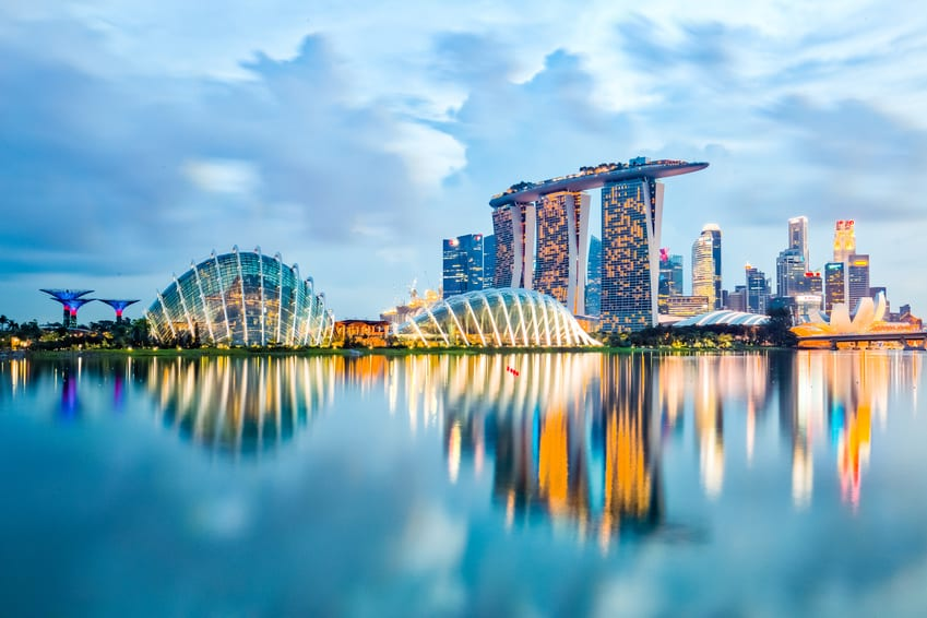 Singapore Skyline - The Most Expensive Cities in the World for Expats