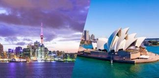 Comparing Australia VS New Zealand