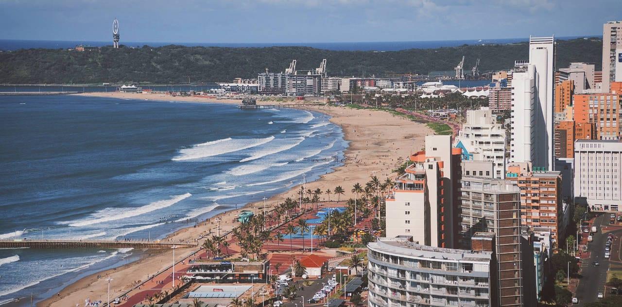 Durban beach view