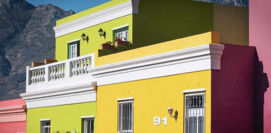 Bo Kaap homes, Cape Town