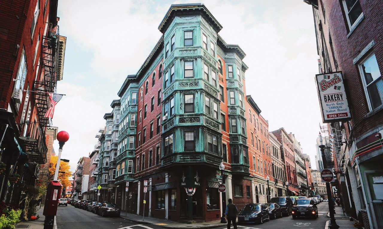 Boston corner house