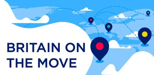 Britain on the move header image