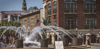 City Square fountain, Charleston
