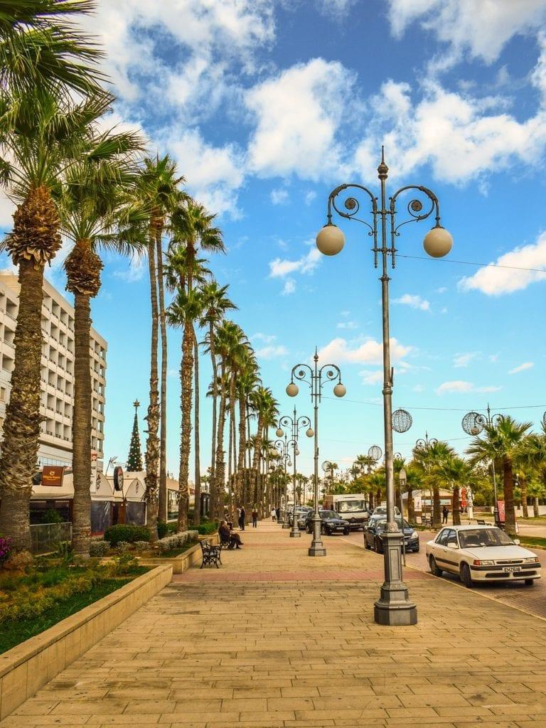 Finikoudes Beach - Larnaca, Cyprus - Moving to Cyprus - Expat advice