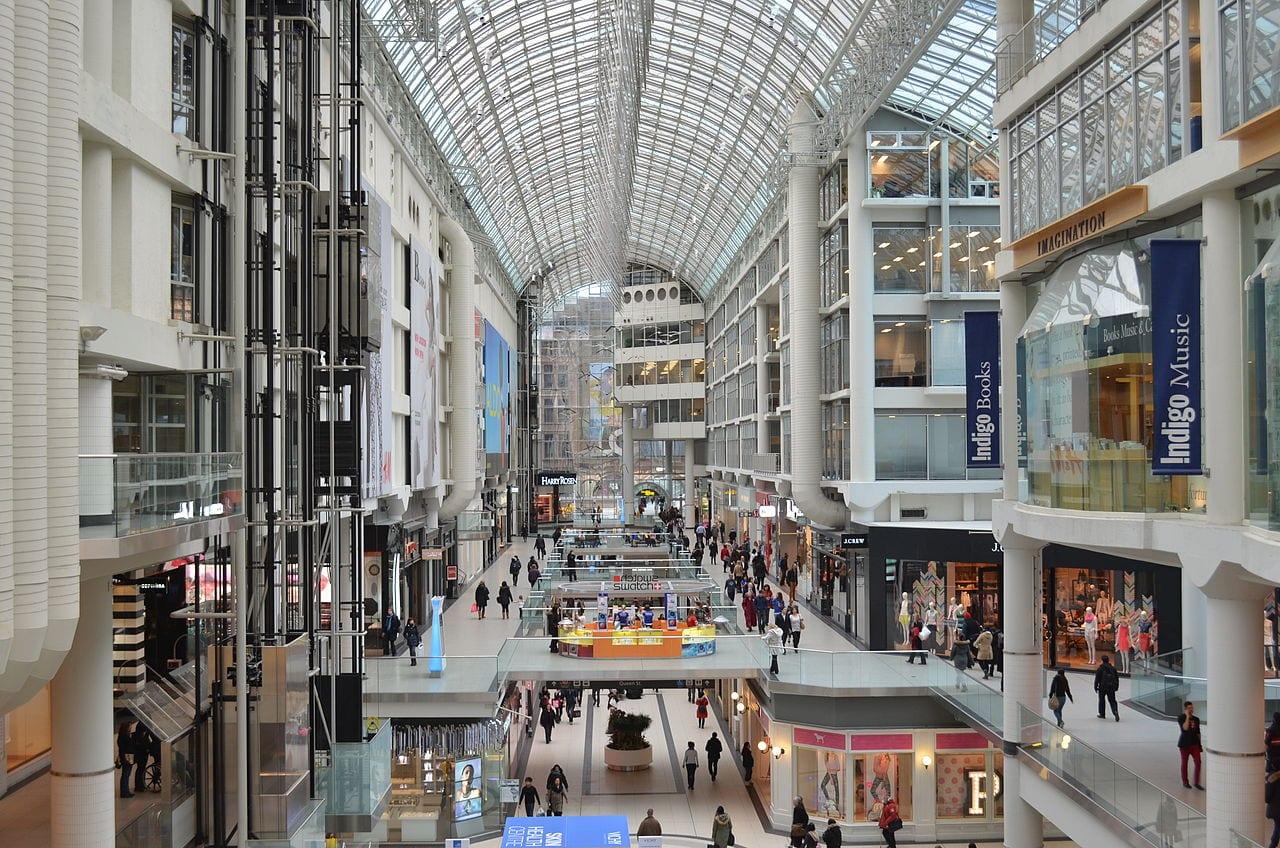 Eaton Centre - Canada underground mall