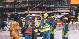 Skilled immigrant workers construction