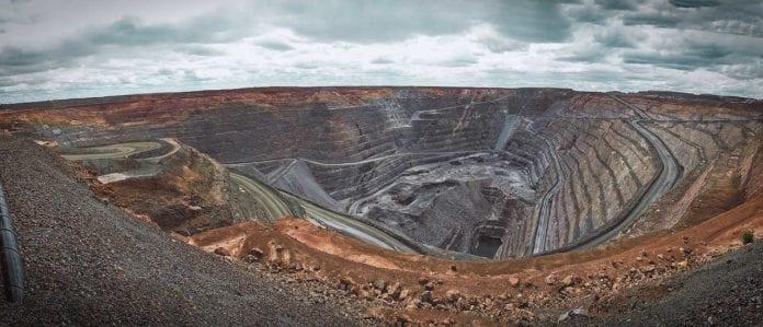 Australian open cast mining