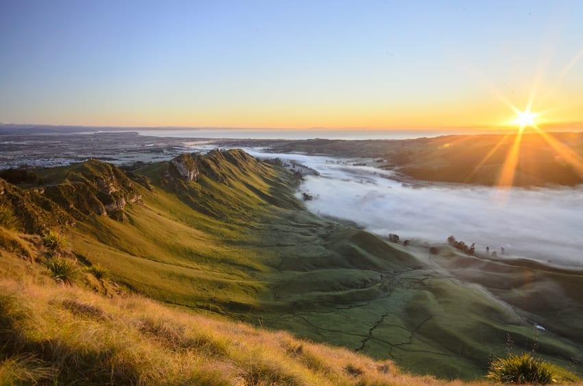 New Zealand Countryside - Te Mata, NZ