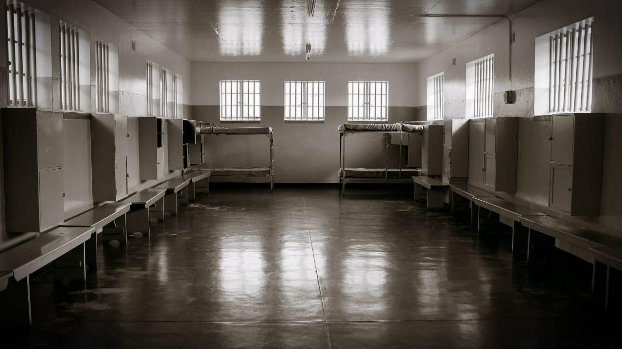 Prison interior, Robben Island