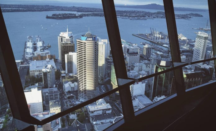 View from Sky Tower, Auckland