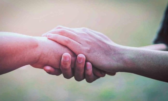 Social help hands