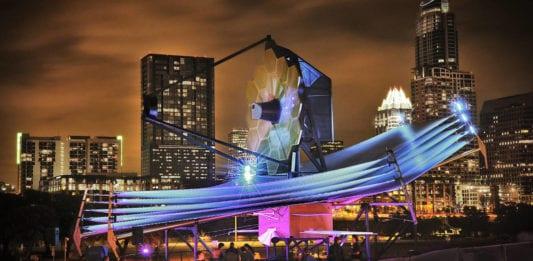 Space telescope exhibition, Austin Texas