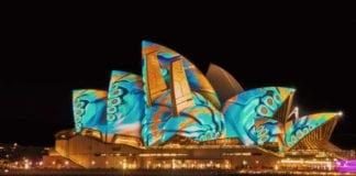 Opera house in colour