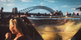Sydney waterfront bar