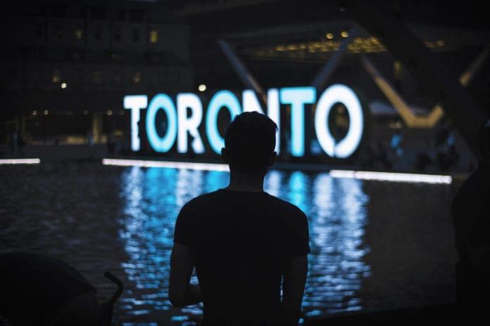 Toronto illuminated sign