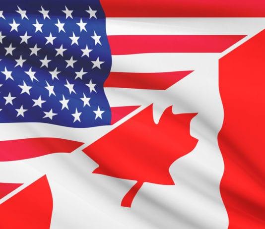 USA and Canada Flags - USA vs Canada