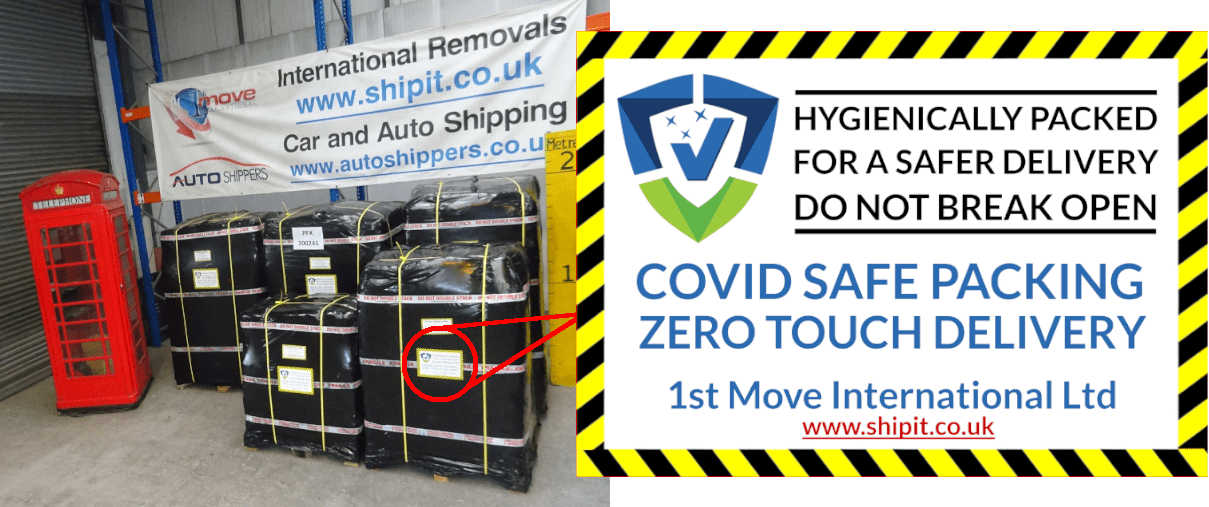 Covid Safe International Removals