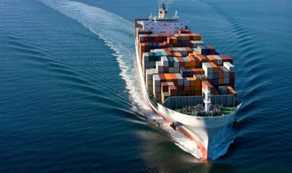 Container ship - Faster shipping with 1st Move International Removals